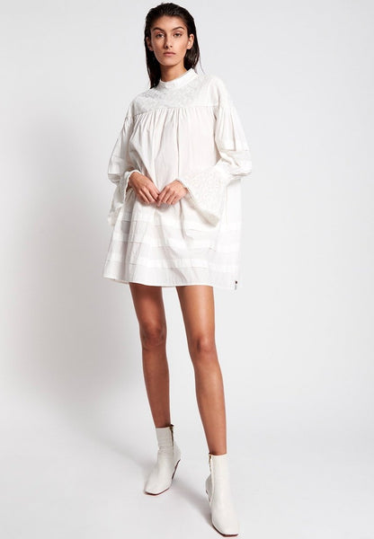 Worn White Desert Angel Dress