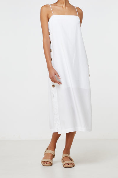Elka Collective | Solene Dress White