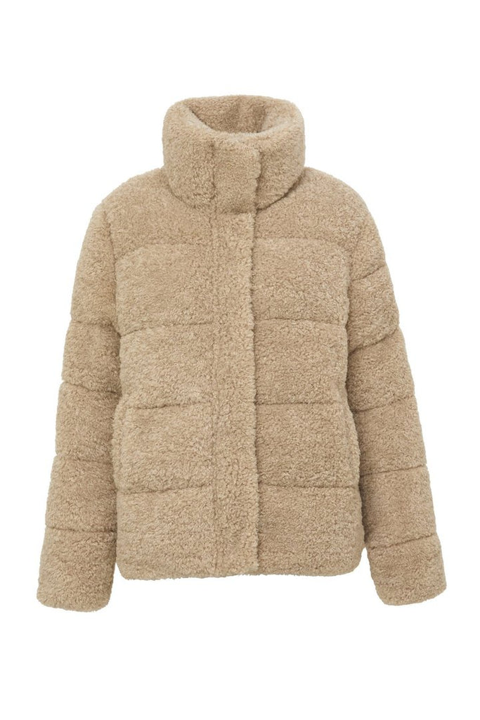 Golden Years Puffer Jacket - Biscotti