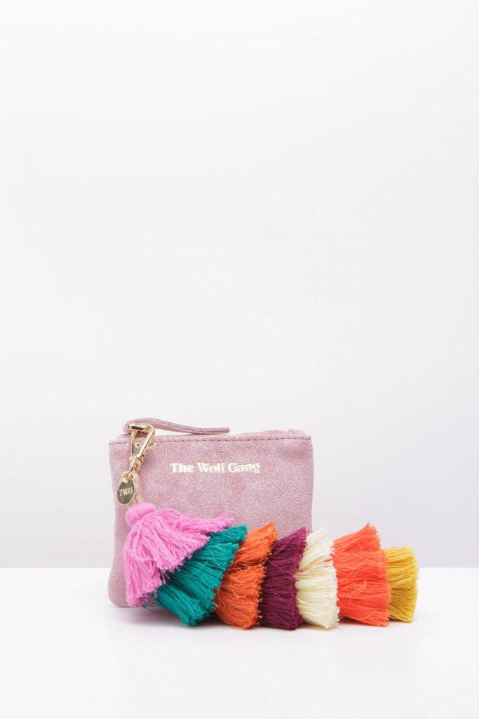 The Inca Coin Purse - Blush