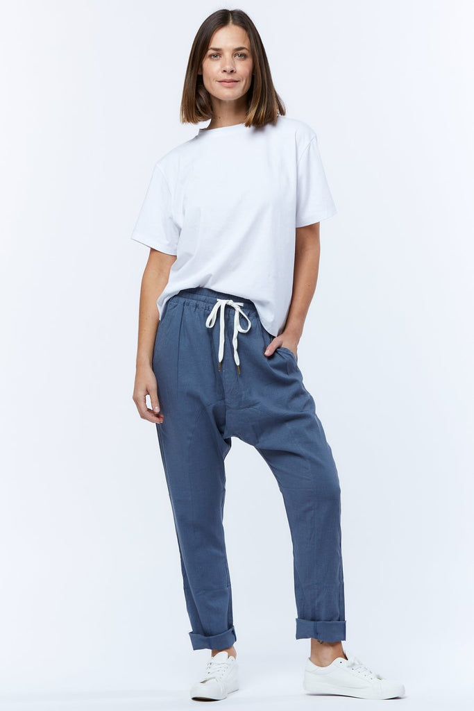 Casa Amuk | Dropcrotch Pant - Blue