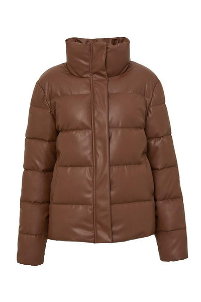 Major Tom Puffer Jacket - Tan