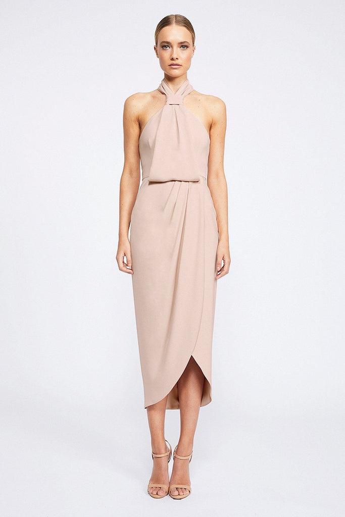 Shona Joy | Core Knot Draped Dress | Ballet