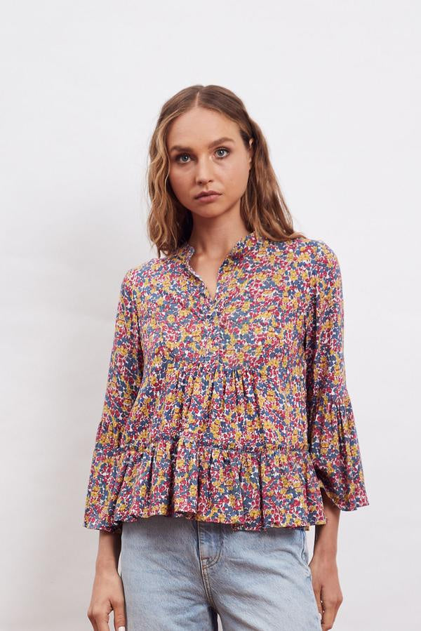 MLM | Willow Flounce Top