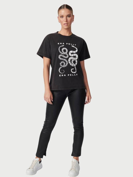 Ena Pelly | Ying Yang Tee - Black