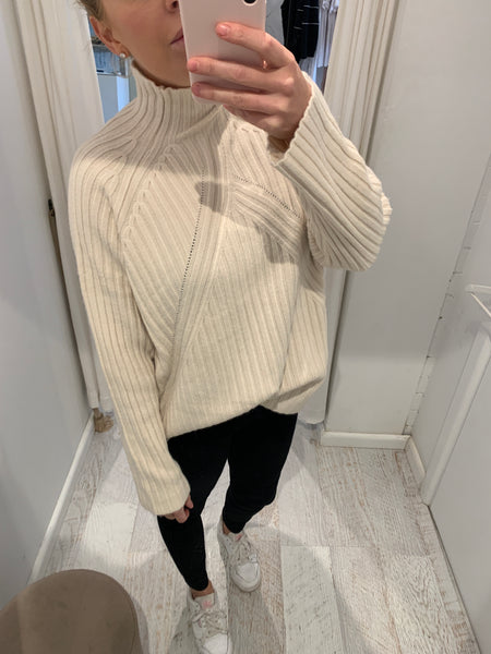 Annabelle High Neck Knit