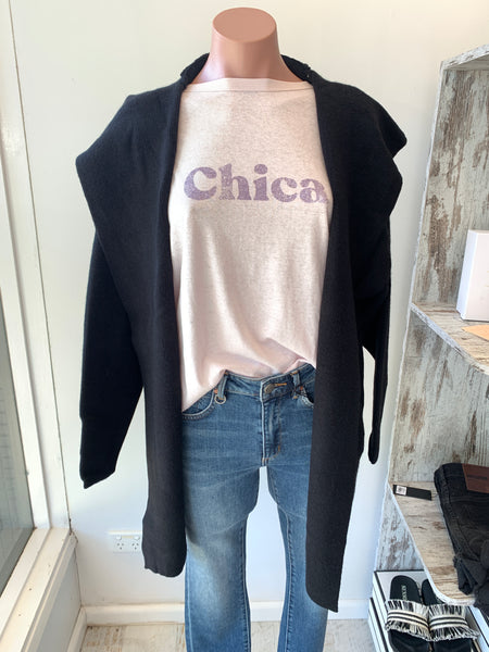 Chloe Hooded Cardigan