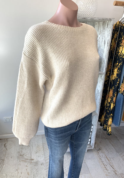 Isabelle Knit - Cream