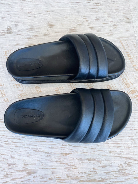 Saint Marlo | Pippi Slides - Black