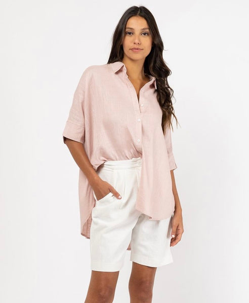 Mia Shirt - Blush