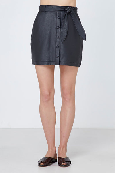 Elka Collective | Ruby Leather Skirt