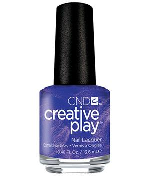 CND CREATIVE PLAY - Cue the violets - Satin Finish (Discontinued)
