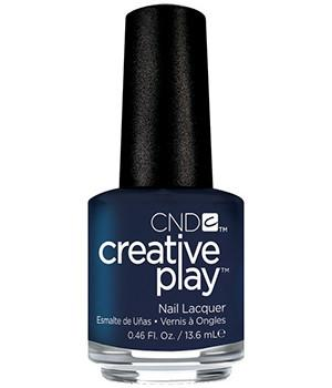 CND CREATIVE PLAY - Navy Brat - Creme Finish