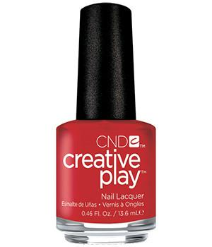 CND CREATIVE PLAY - Red-y to roll - Creme Finish
