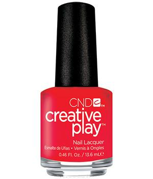 CND CREATIVE PLAY - Hottie tomattie - Creme Finish