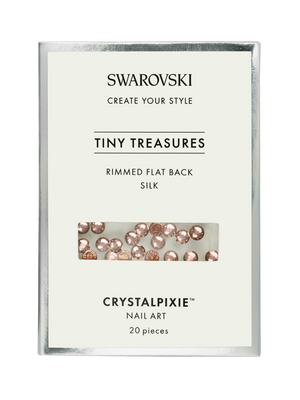 Swarovski Tiny Treasures - Rimmed FB Silk