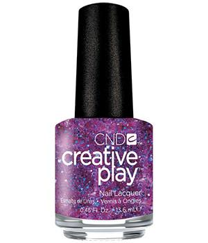 CND CREATIVE PLAY - Positively Plumsy - Micro Glitter Finish
