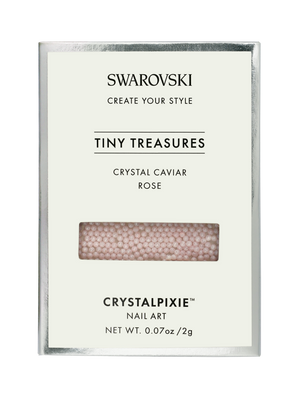 Swarovski Tiny Treasures - Crystal Caviar ROSE