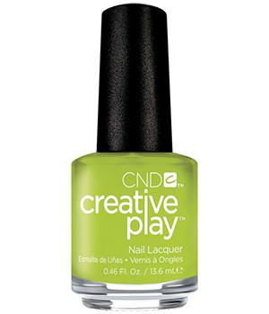 CND CREATIVE PLAY - Toe the lime - Creme Finish