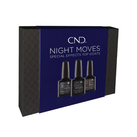 NIGHT MOVES SHELLAC - Holiday Top Coat Prepack