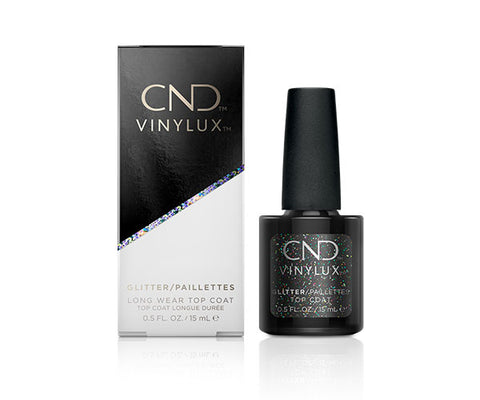 CND VINYLUX GLITTER TOP COAT 15mL