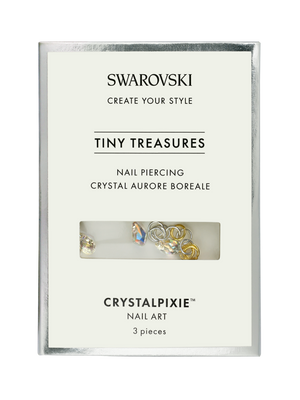 Swarovski Tiny Treasures - Nail Piercing Crystal Aurore Boreale (Professional Only)