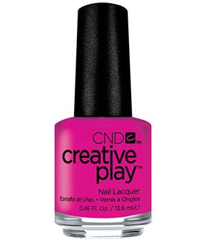 CND CREATIVE PLAY - Berry Shocking - Creme Finish