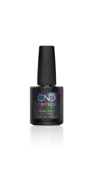 CND VINYLUX PEARL TOP COAT 15mL