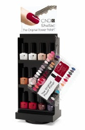 CND Shellac Salon Spinner Rack