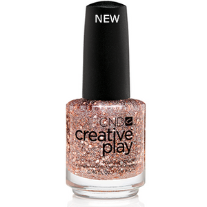 CND CREATIVE PLAY - Look No Hands - Metallic Glitter Finish