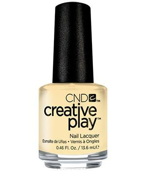 CND CREATIVE PLAY - Bananas for you - Creme Finish (Discontinued)