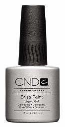 CND Brisa Gel Paint - Pure White 12ml