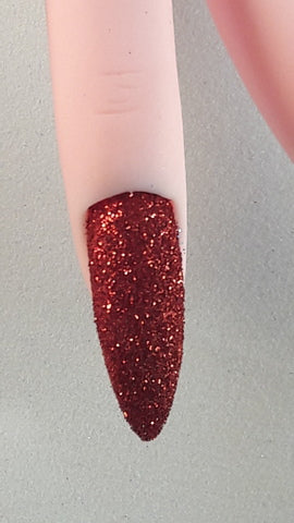 Micro Glitter - Brilliant Red