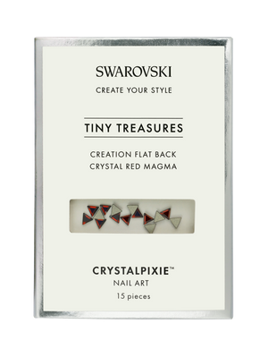 Swarovski Tiny Treasures - Creation FB Crystal Red Magma