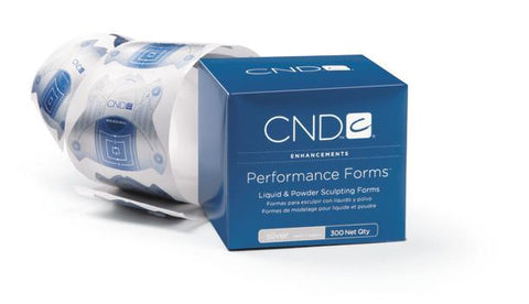 CND - Performance Forms - Silver 300 pack
