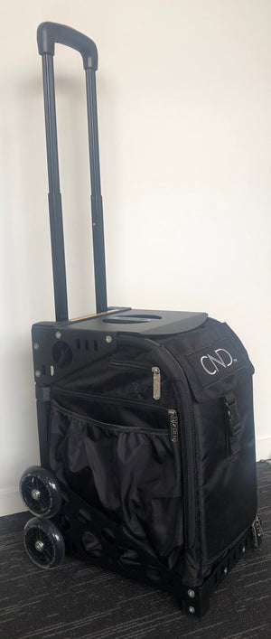 CND Mobile Technician/Therapist Bag on wheels