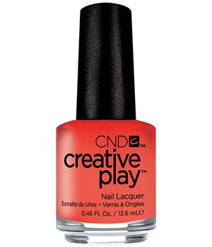 CND CREATIVE PLAY - Peach of mind - Creme Finish
