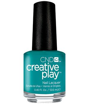 CND CREATIVE PLAY - Head over teal - Creme Finish