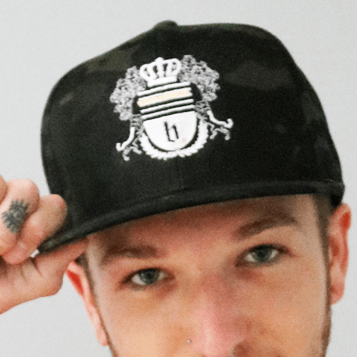 The Crest Camo Snapback Hat