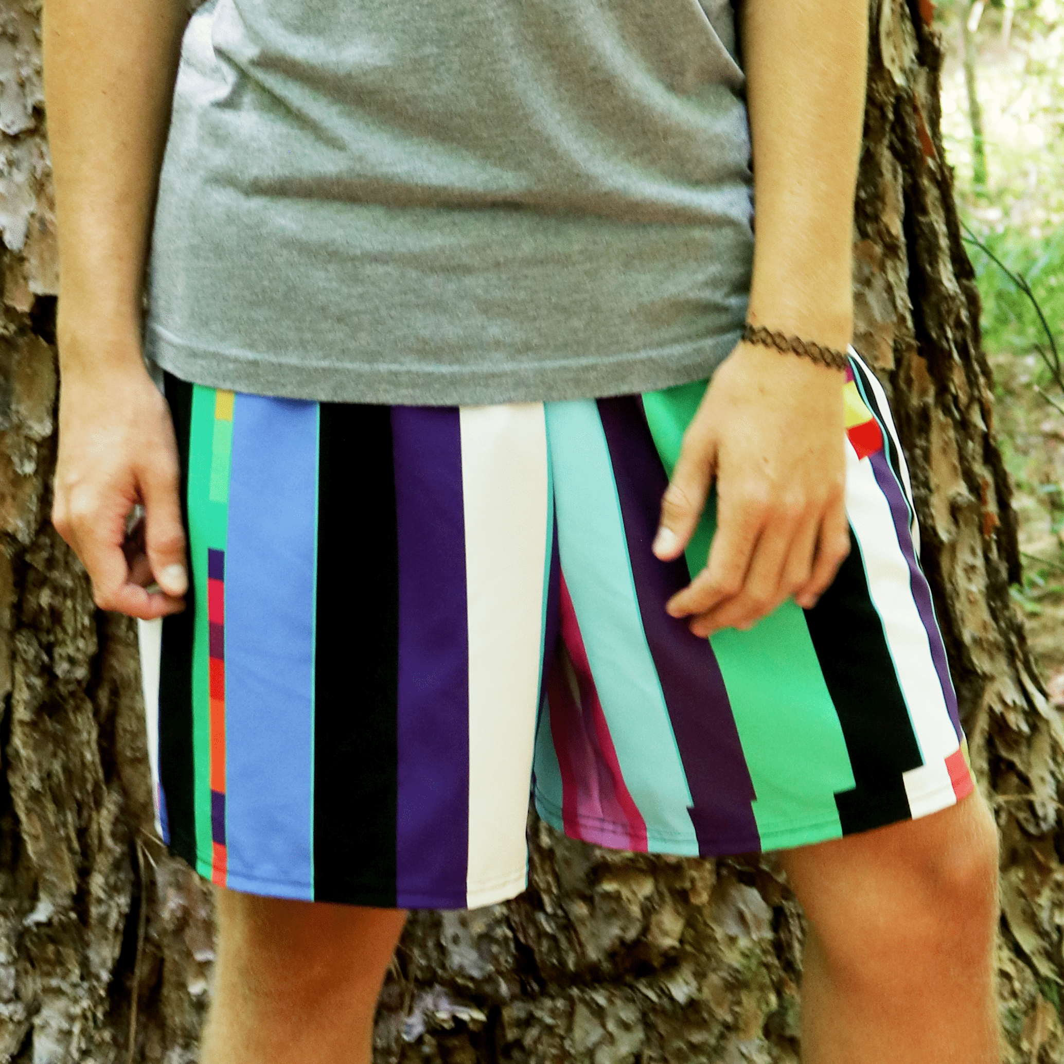 Glitch Print Brett Short