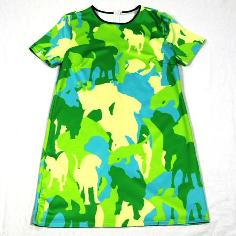 Pop Camo T-Shirt Dress