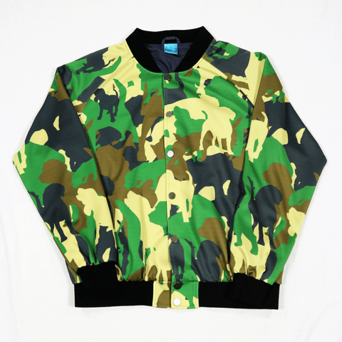 Pack Camo Snap Bomber Jacket