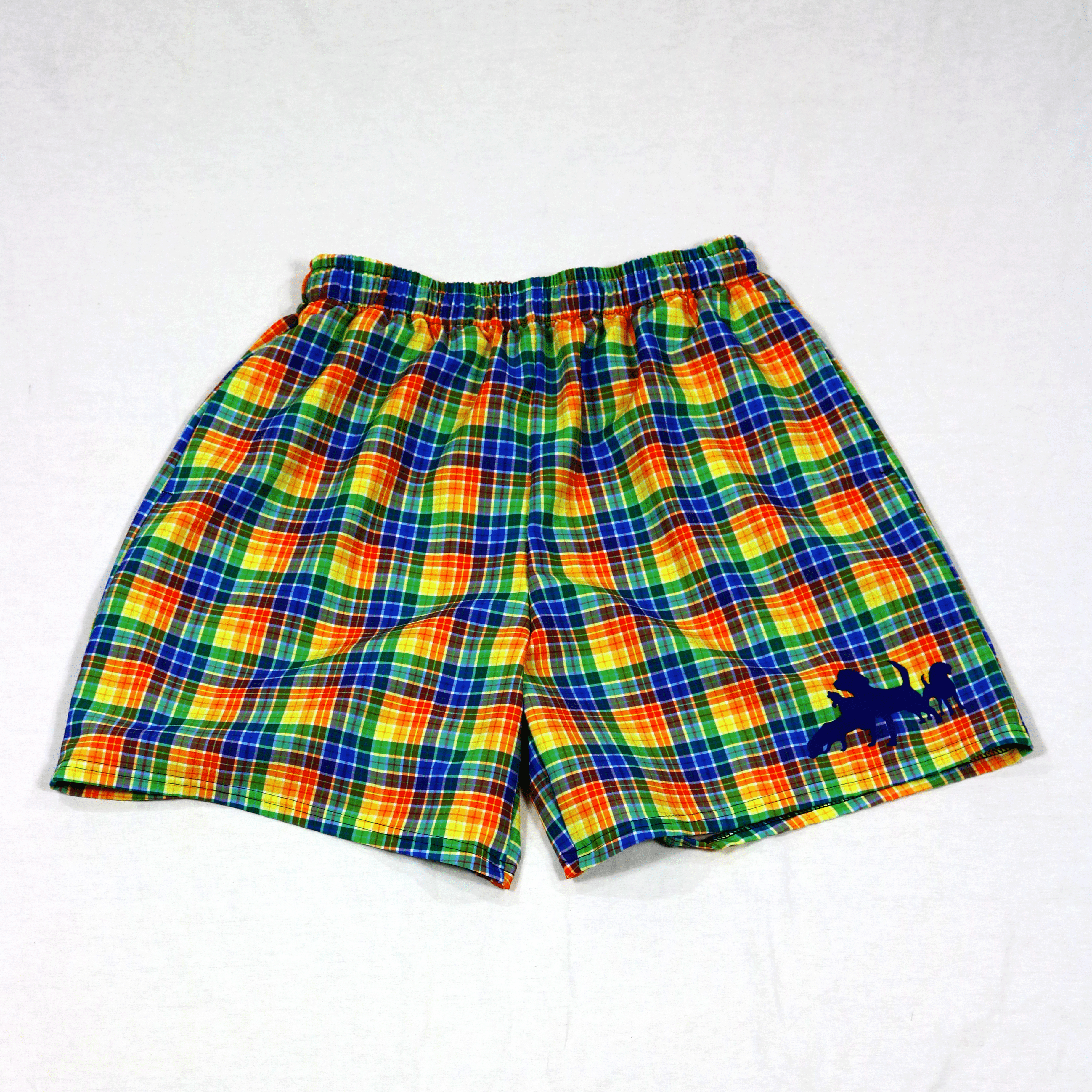 Pride Plaid Brett Short