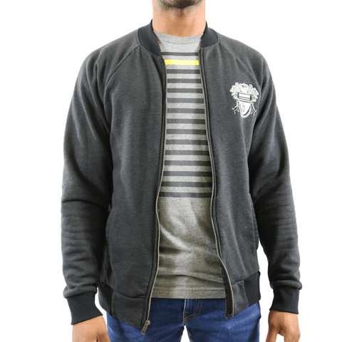 The Crest Jersey Bomber Jacket