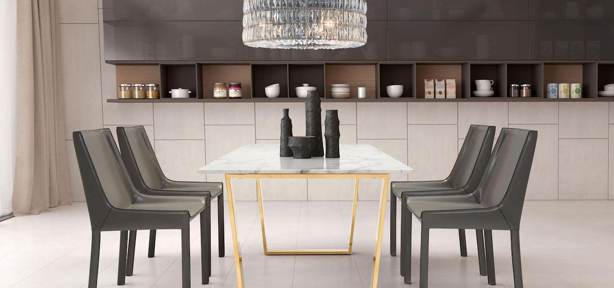 Modern Furniture, Lighting, Dining Table, Dining Chairs and Decor at Alan Decor