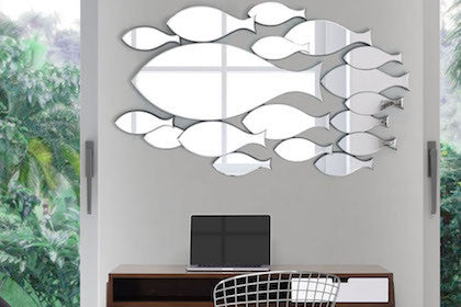 Modern Mirrors, Decor and Furniture at Alan Decor