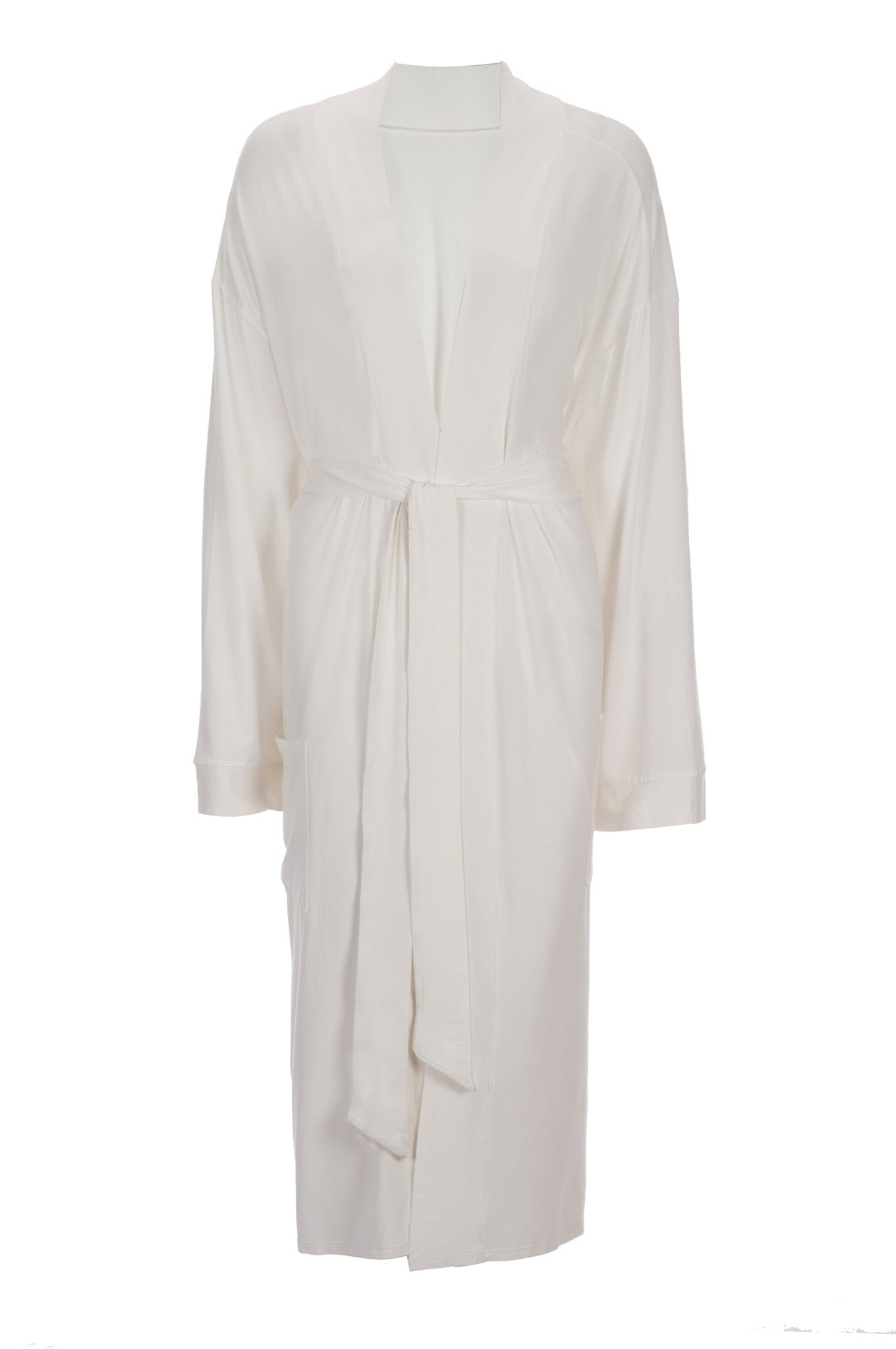 5afec8760c Bamboo Viscose Robe in Ivory-Bathrobes-Alan Decor