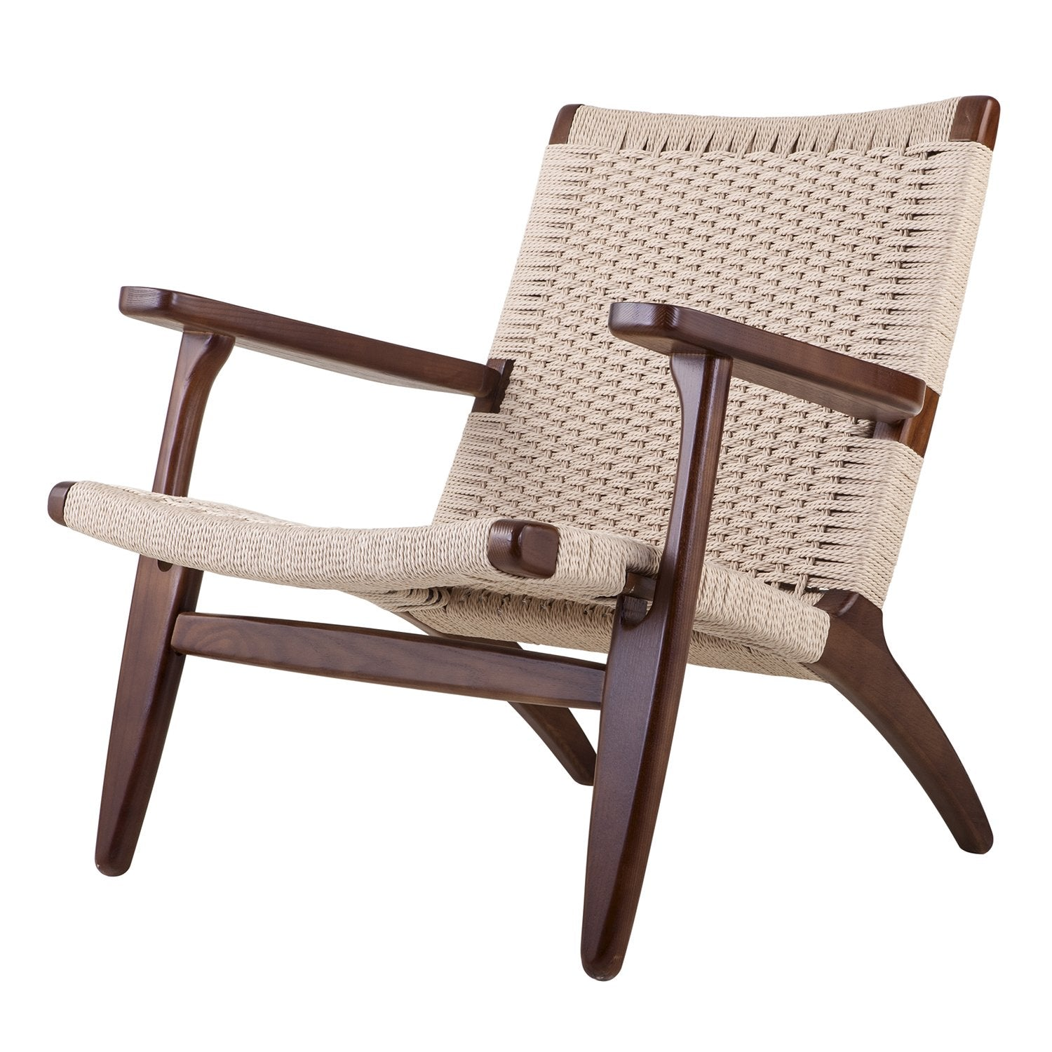 Superieur ... Claus Accent Chair In Walnut Finish Beech Wood And Rattan Accent Chairs Alan  Decor ...