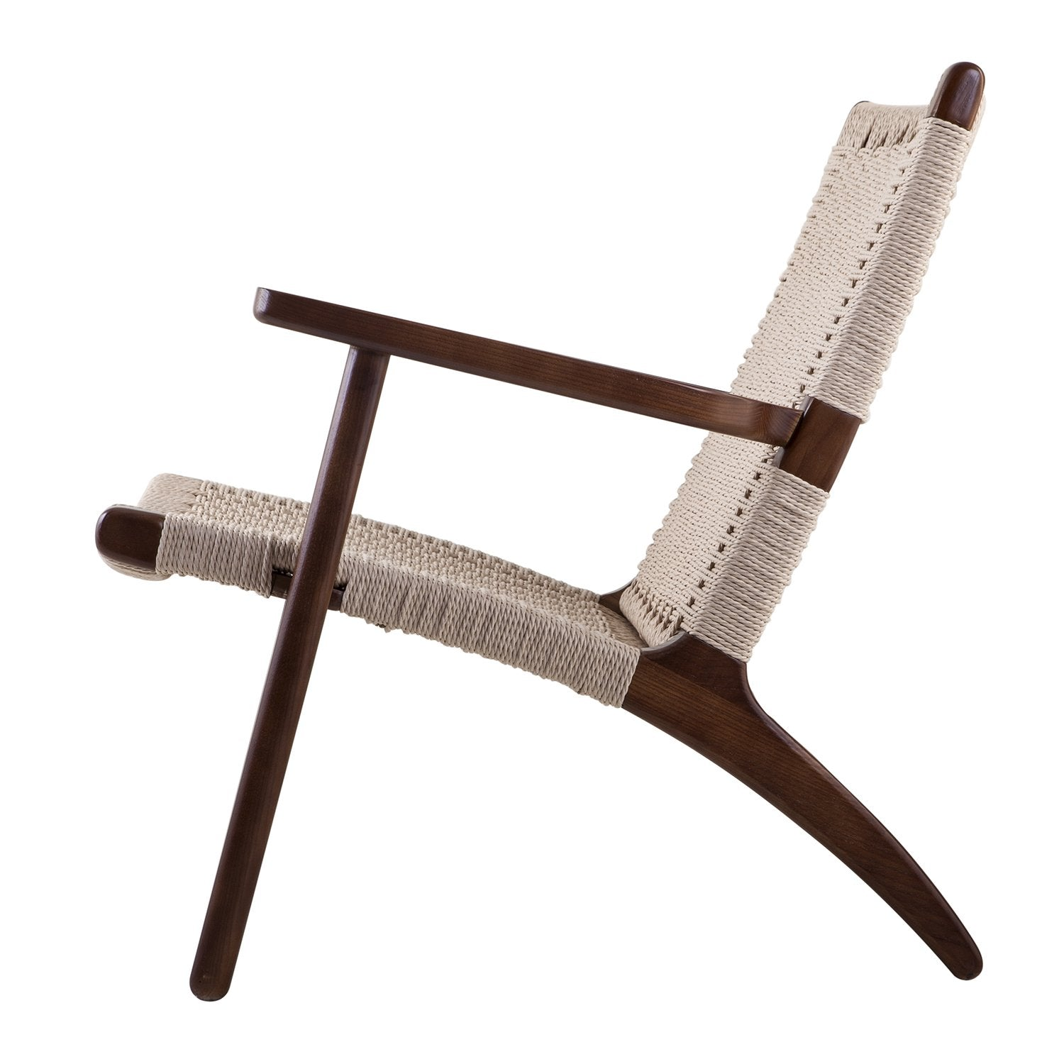 ... Claus Accent Chair In Walnut Finish Beech Wood And Rattan Accent Chairs Alan  Decor ...
