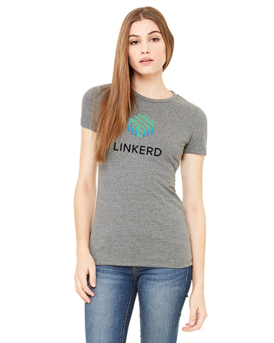 Ladies linkerd Short Sleeve Concert Tee